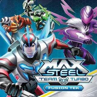 Max Steel Team Turbo: Fusion Tek kapak