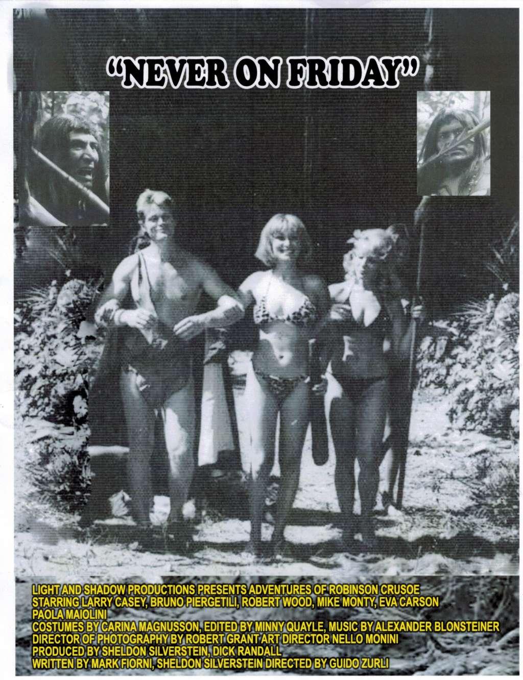 The Erotic Adventures of Robinson Crusoe kapak