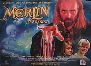 Merlin: The Return kapak