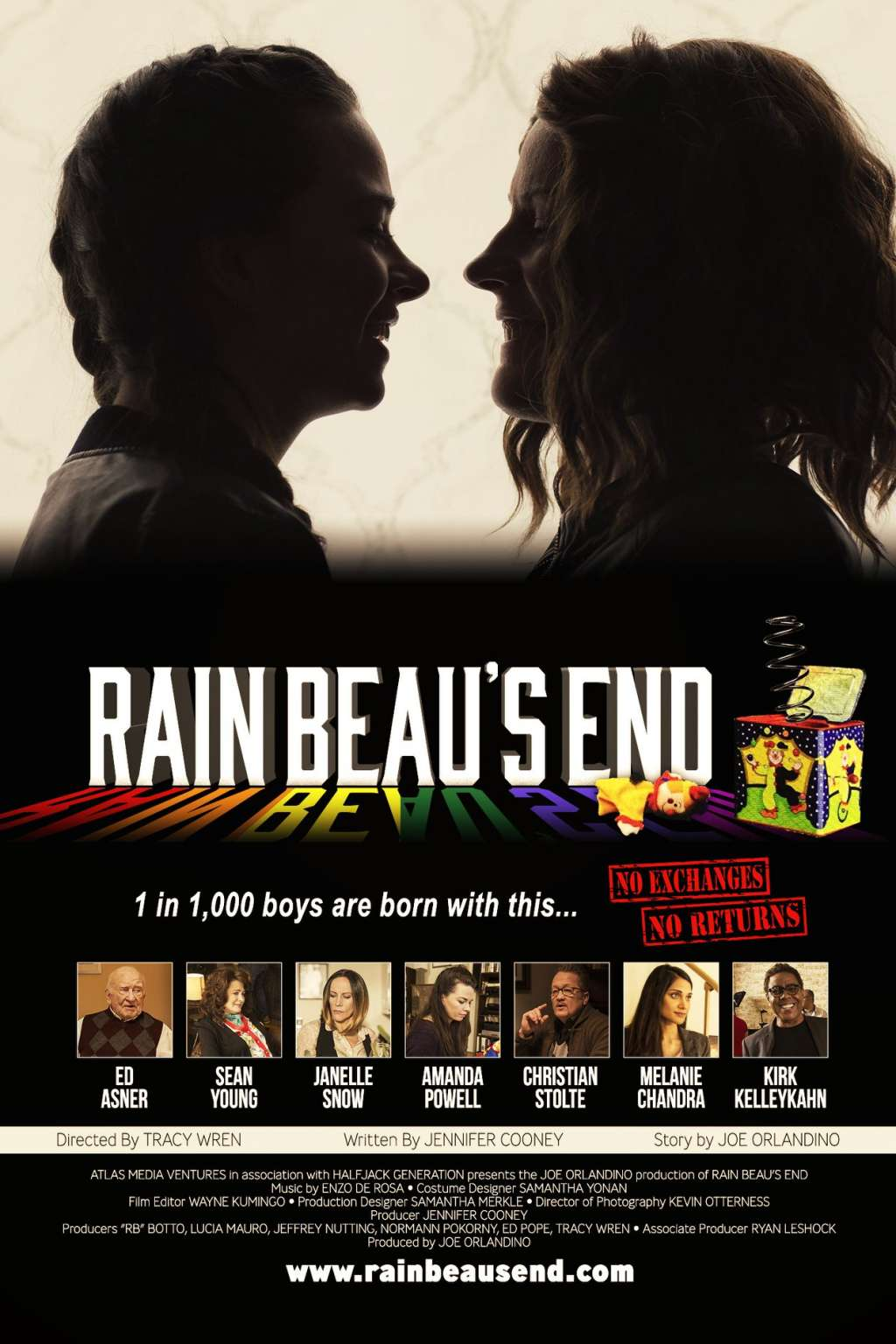 Rain Beau's End kapak