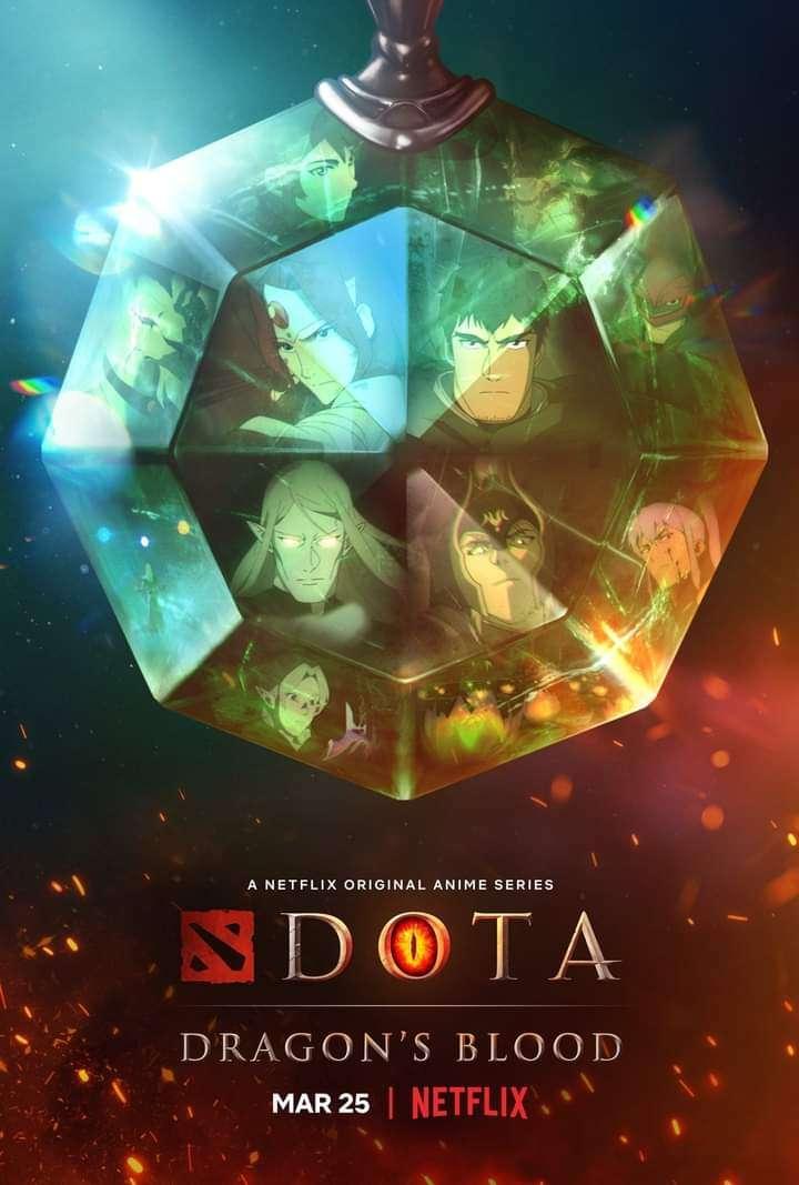 Dota: Dragon's Blood kapak