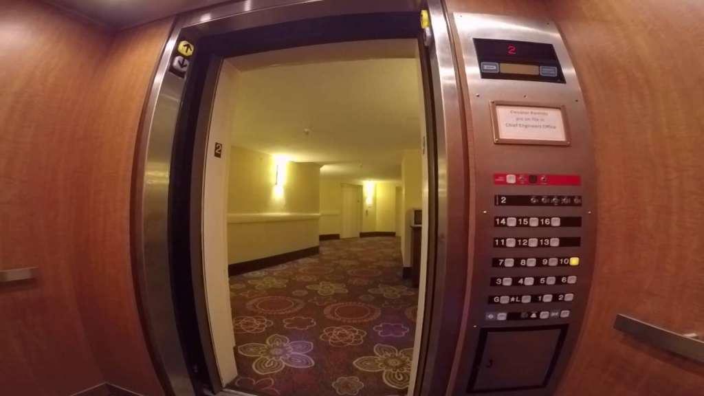The Elevator kapak