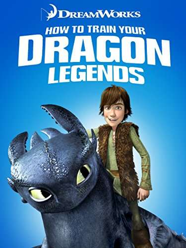 Dreamworks How to Train Your Dragon Legends kapak