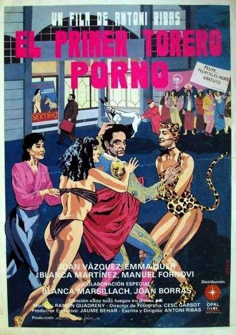 El primer torero porno kapak