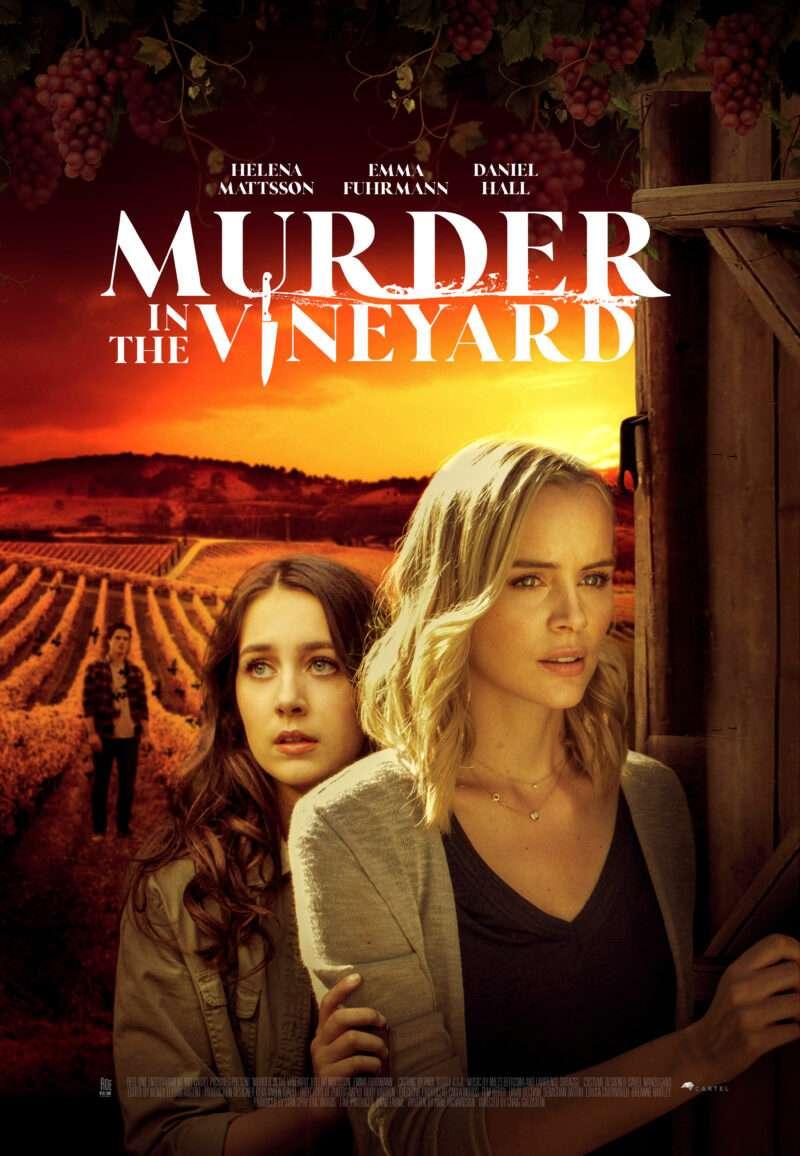 Murder in the Vineyard kapak