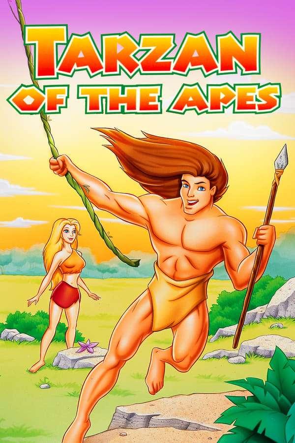 Tarzan of the Apes kapak
