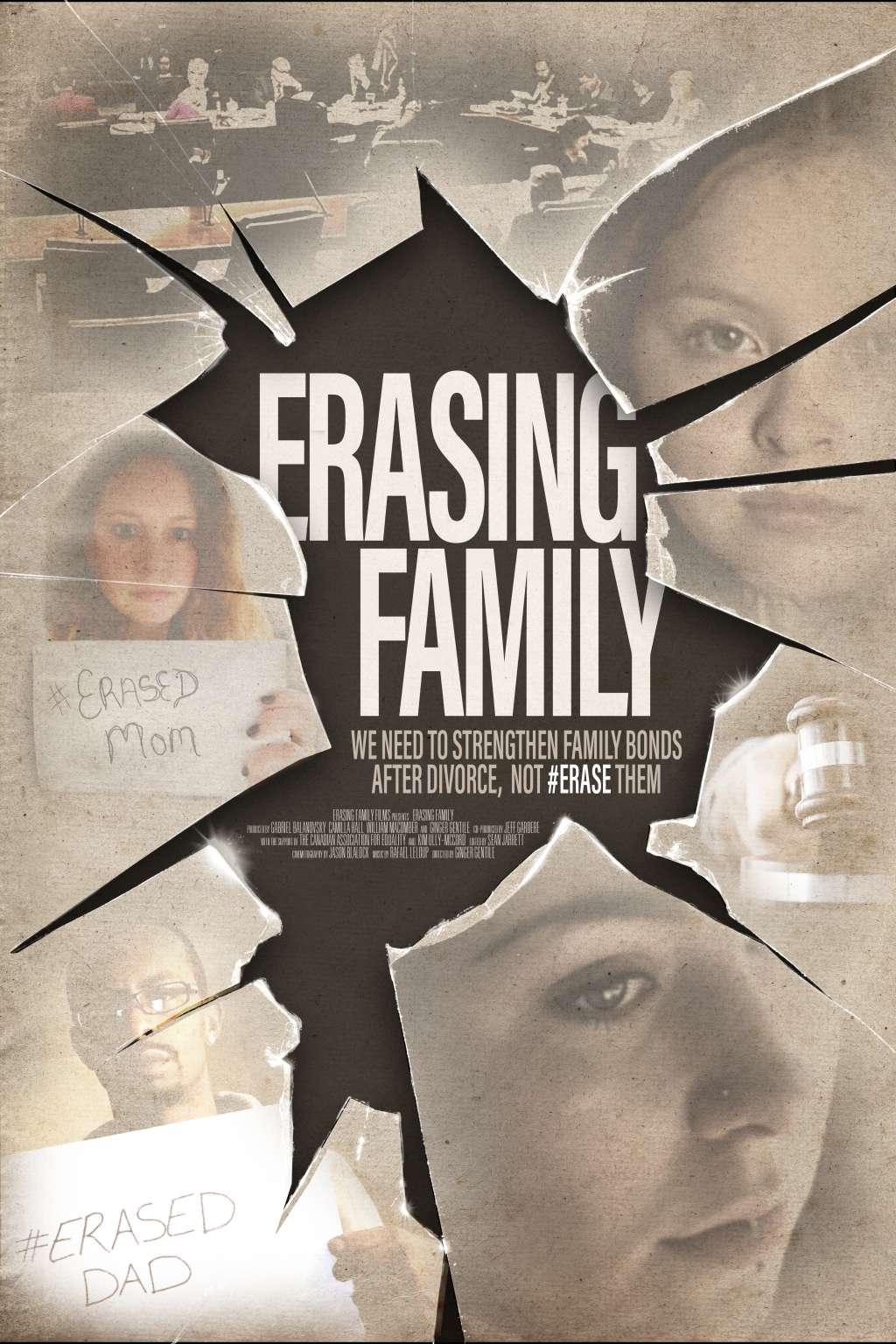 Erasing Family kapak