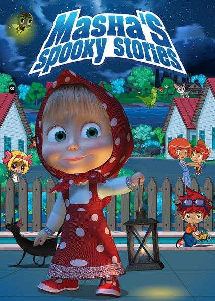 Masha's Spooky Stories kapak