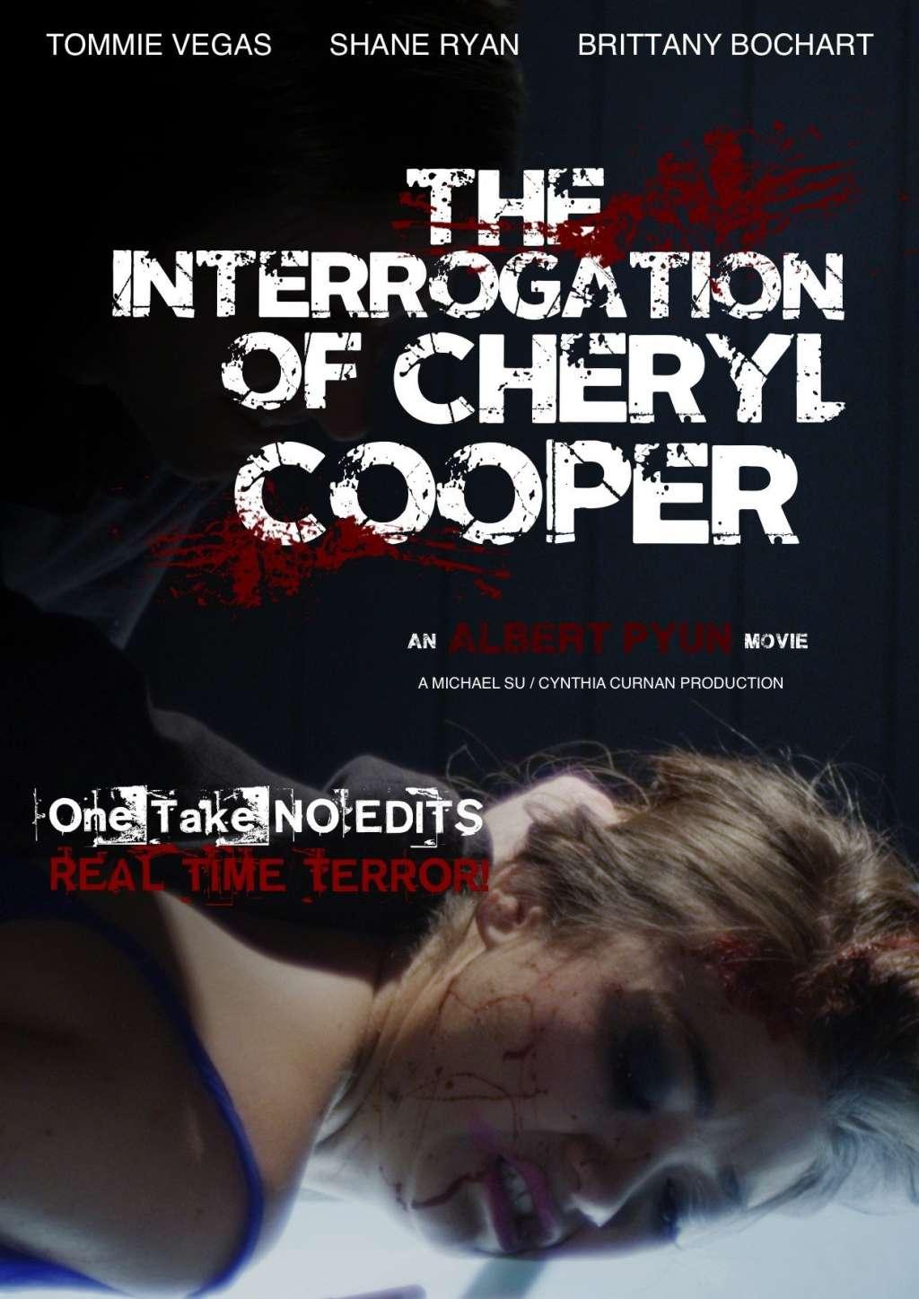 The Interrogation of Cheryl Cooper kapak