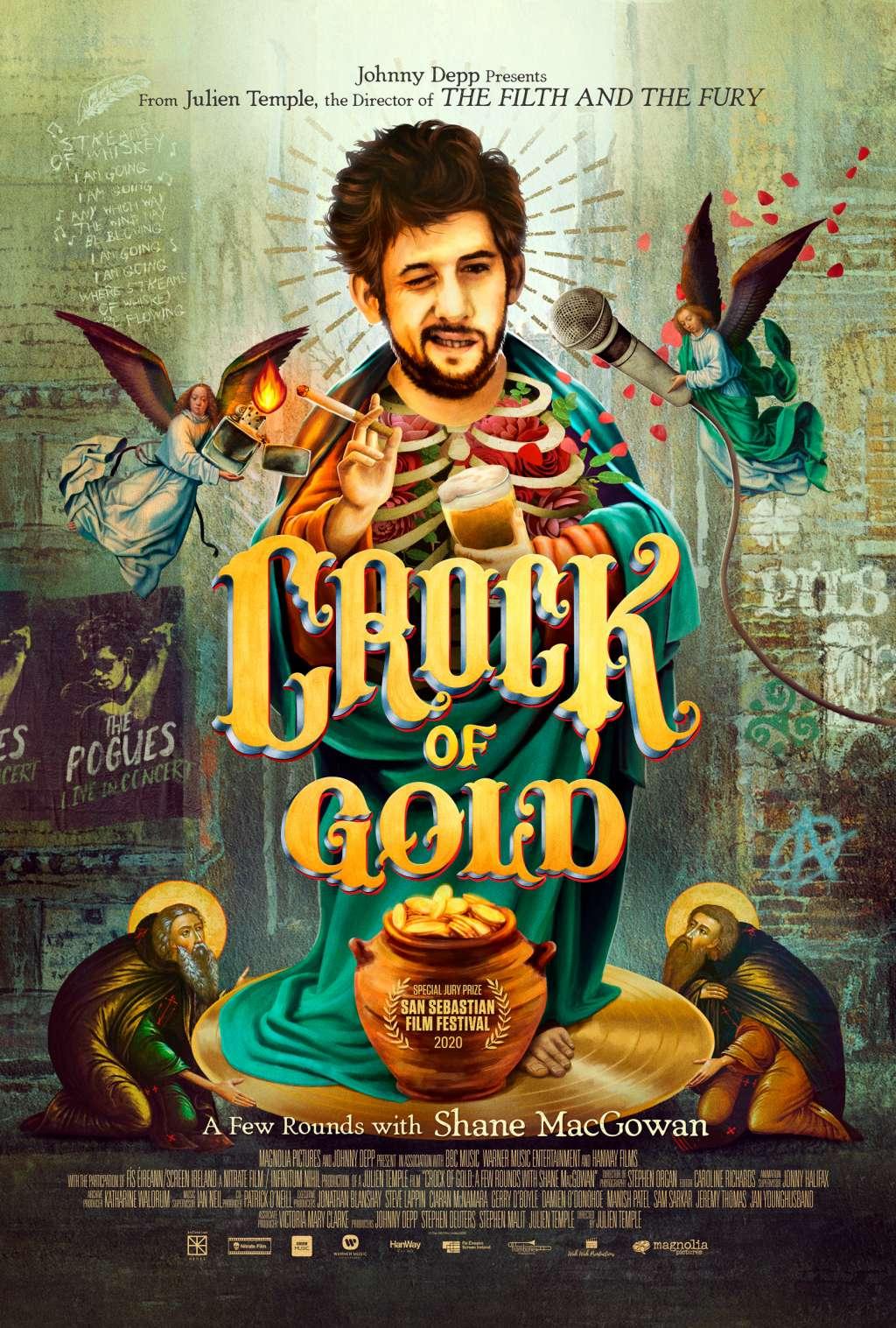 Crock of Gold: A Few Rounds with Shane MacGowan kapak