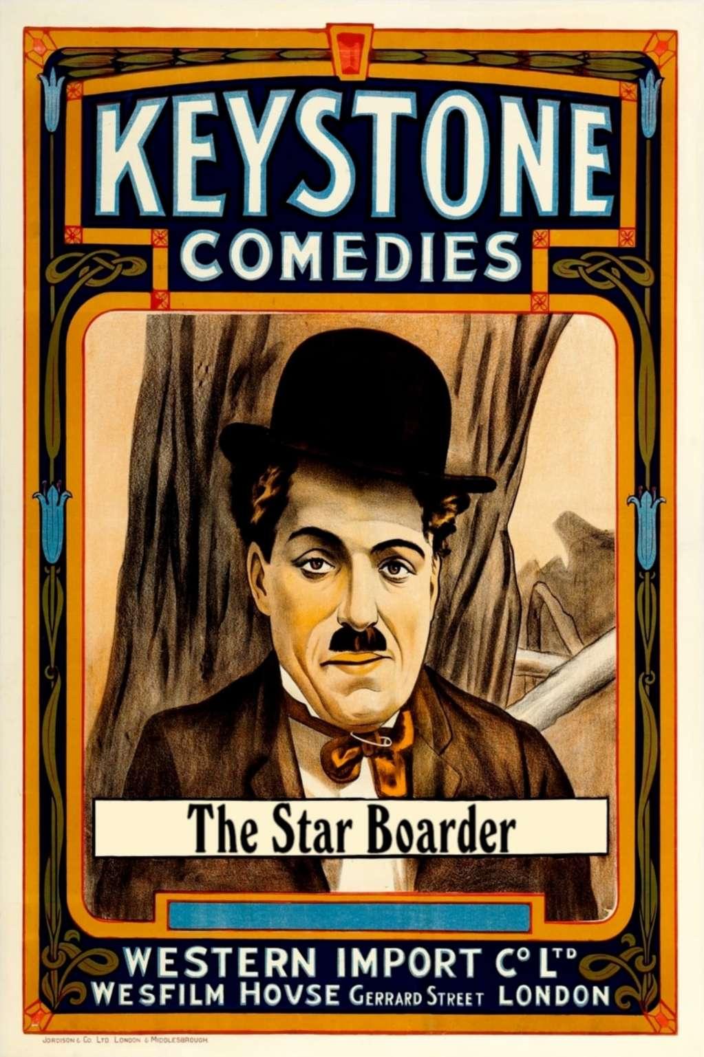 The Star Boarder kapak