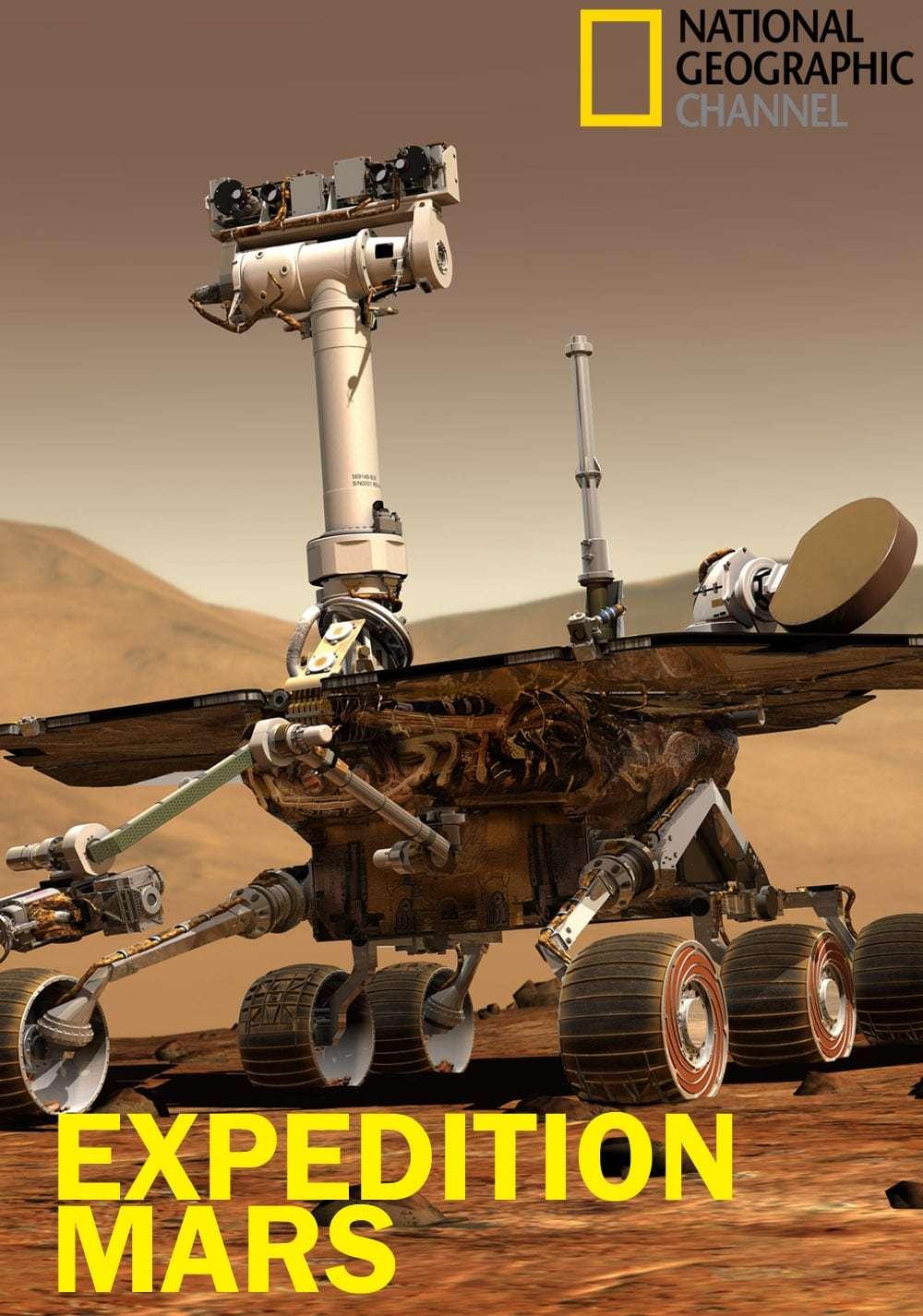 Expedition Mars kapak