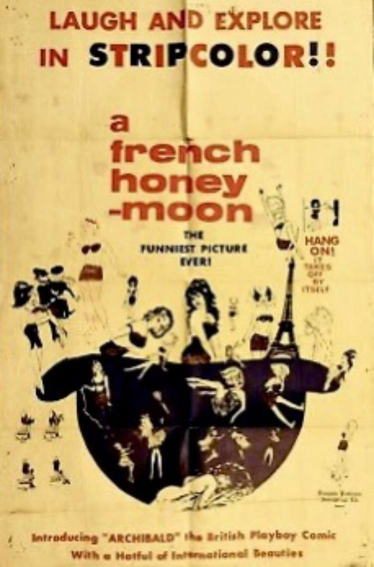 A French Honeymoon kapak