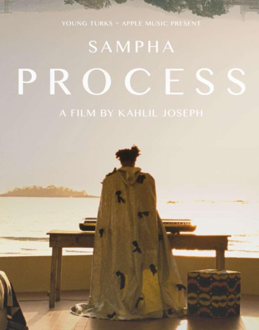 Sampha: Process kapak