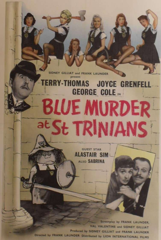 Blue Murder at St. Trinian's kapak