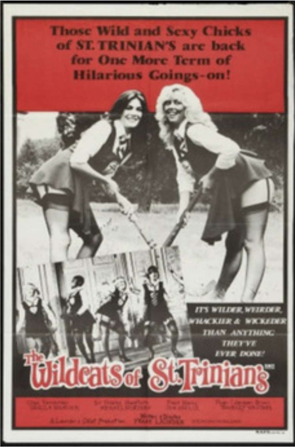 The Wildcats of St. Trinian's kapak