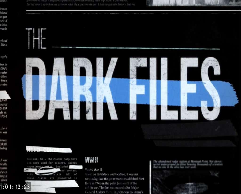 The Dark Files kapak