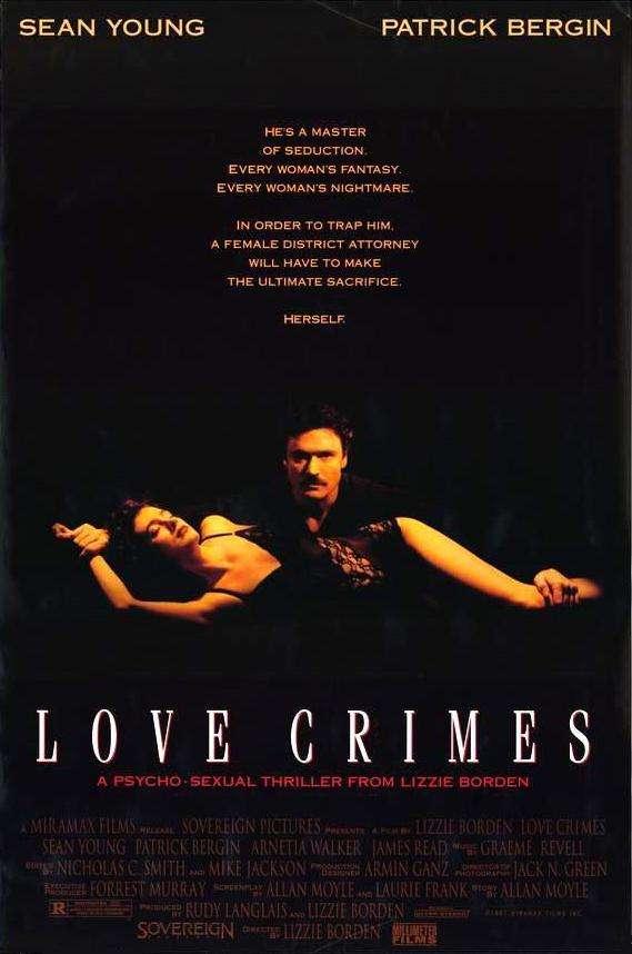 Love Crimes kapak