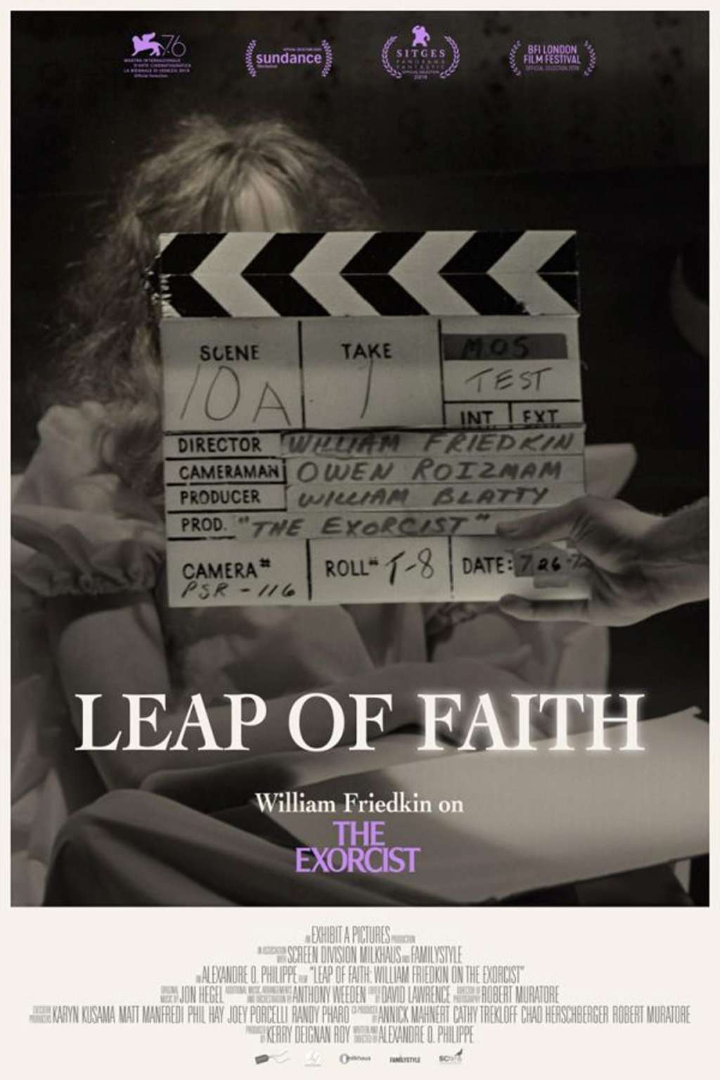 Leap of Faith: William Friedkin on the Exorcist kapak