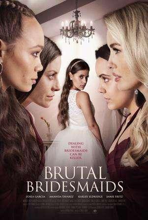 Brutal Bridesmaids kapak