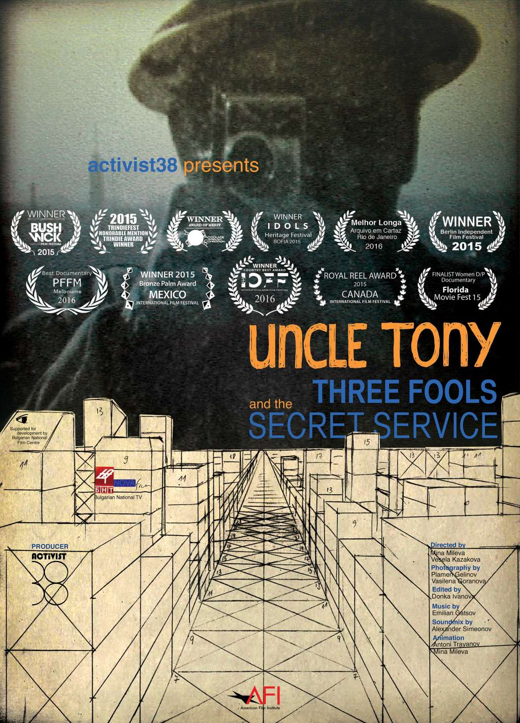 Uncle Tony, Three Fools and the Secret Service kapak