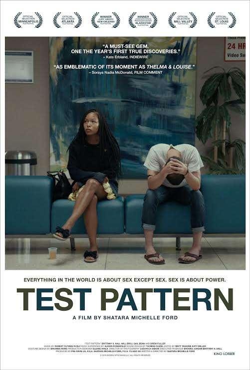 Test Pattern kapak