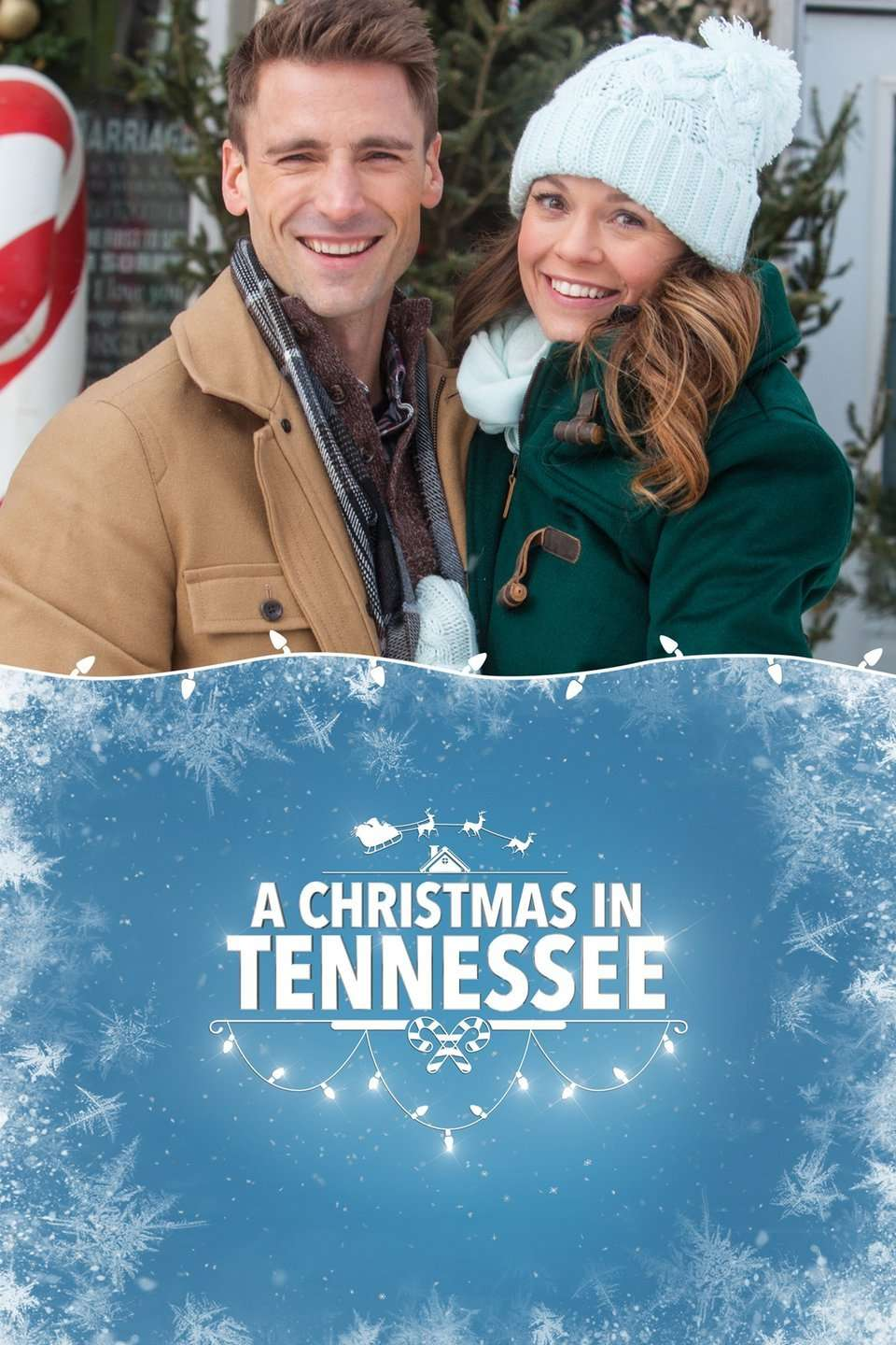 A Christmas in Tennessee kapak