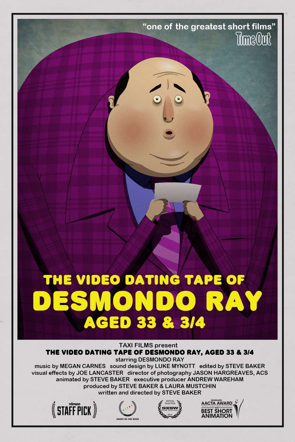 The Video Dating Tape of Desmondo Ray, Aged 33 and 3/4 kapak