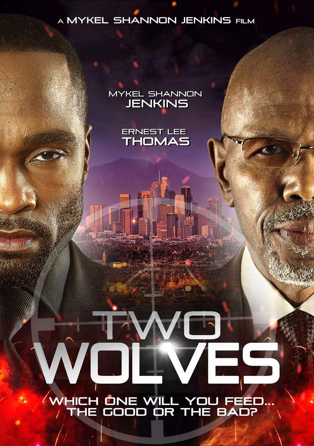 Two Wolves kapak