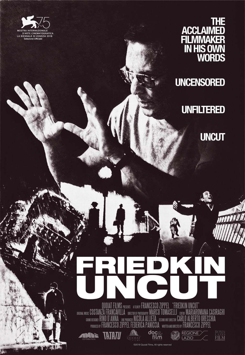 Friedkin Uncut kapak