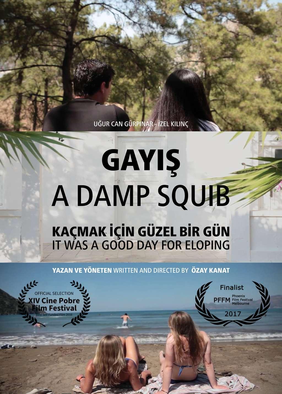 A Damp Squib kapak