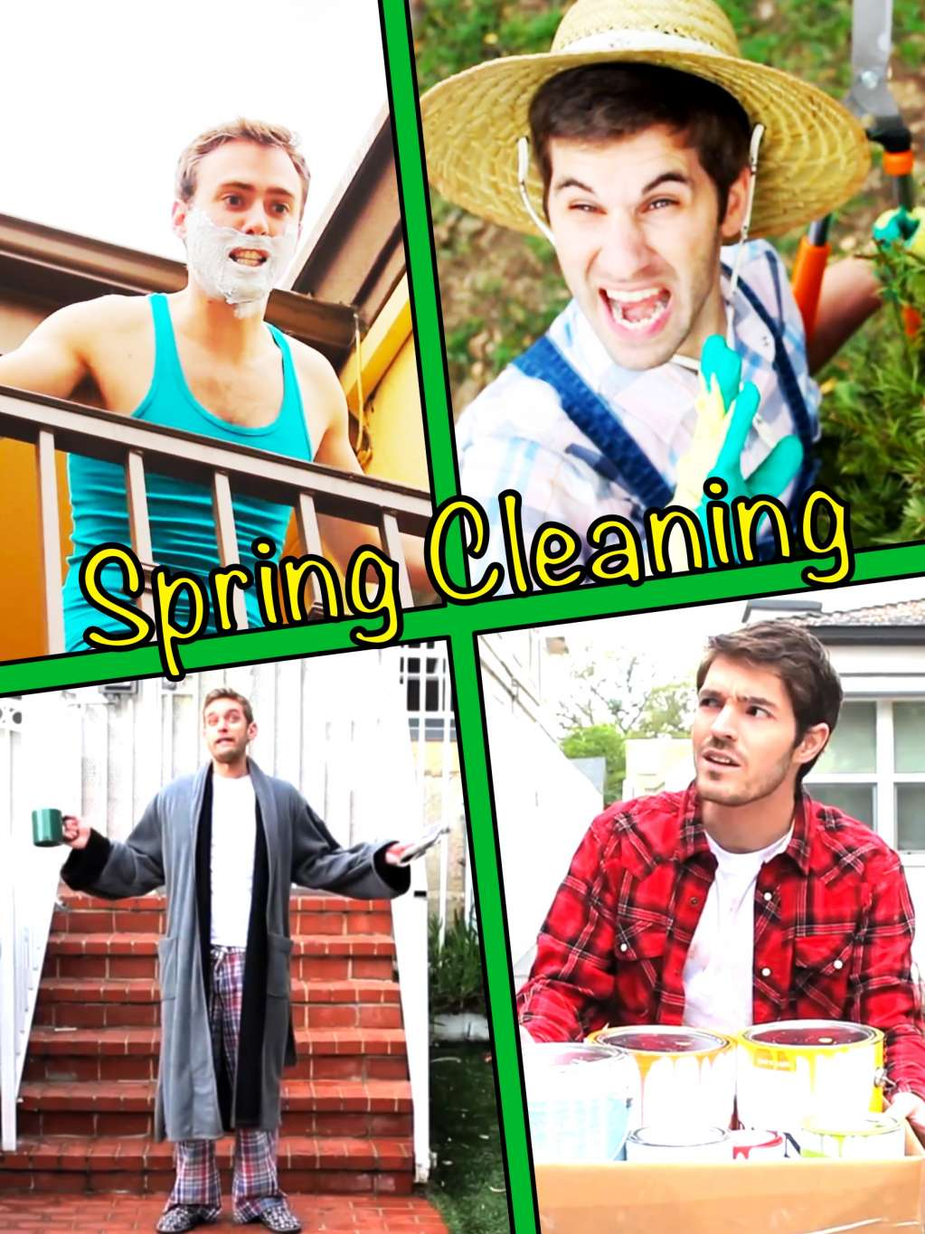 Spring Cleaning kapak