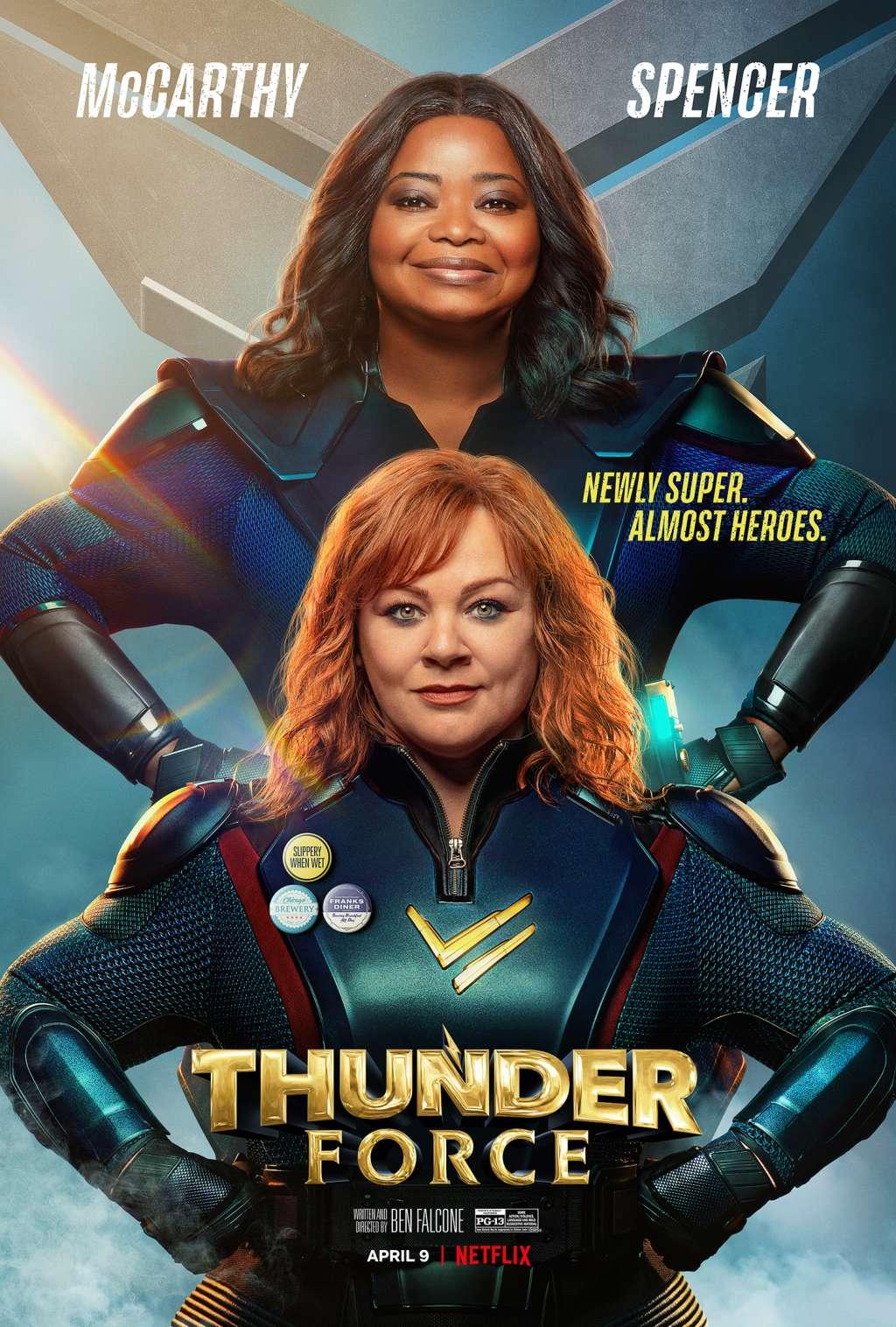 Thunder Force kapak
