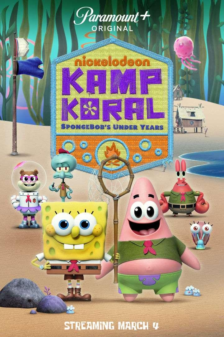 Kamp Koral: SpongeBob's Under Years kapak