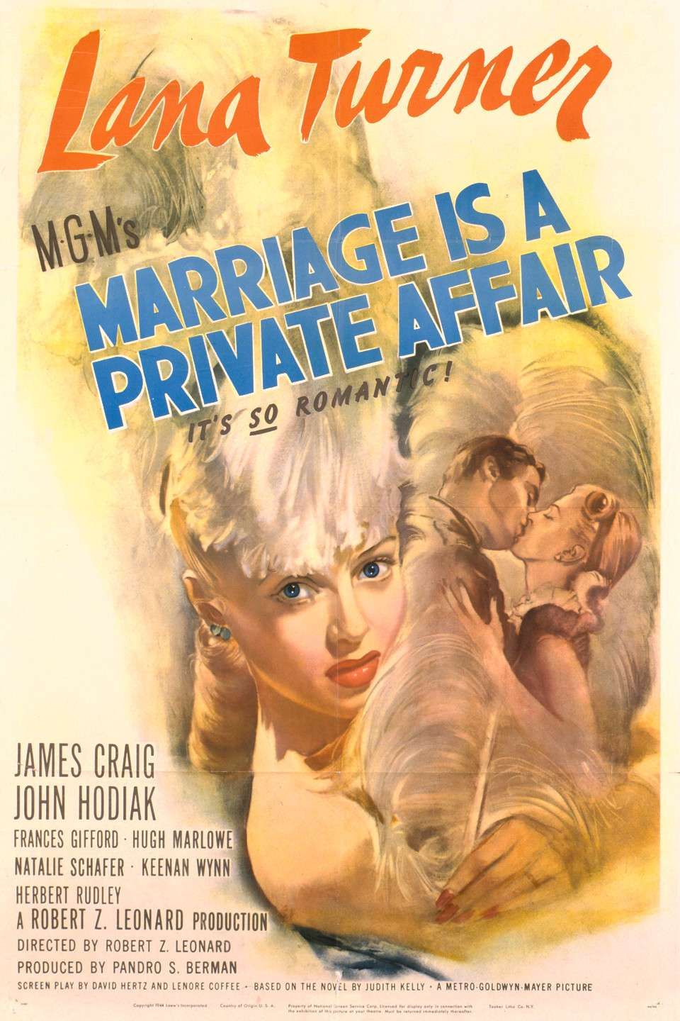 Marriage Is a Private Affair kapak