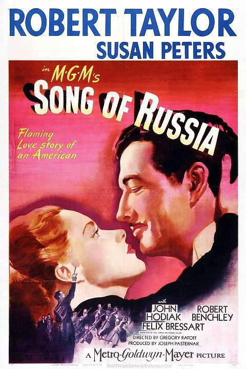 Song of Russia kapak