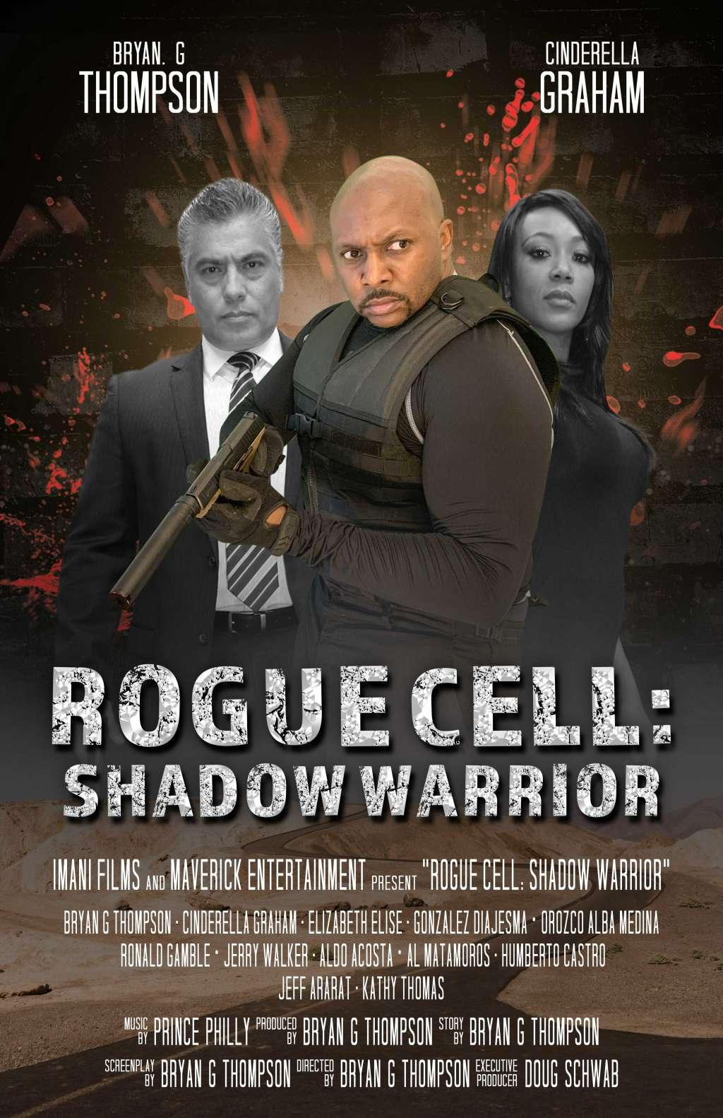 Rogue Cell: Shadow Warrior kapak