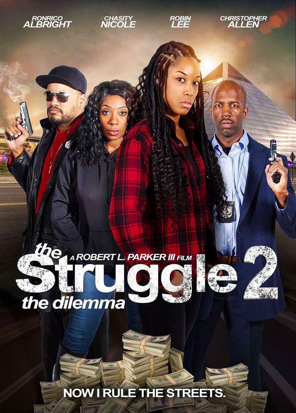 The Struggle II: The Delimma kapak