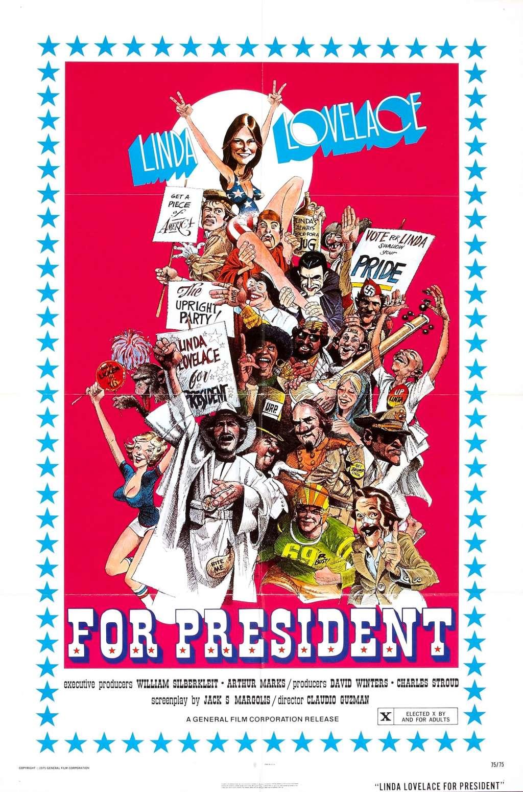 Linda Lovelace for President kapak