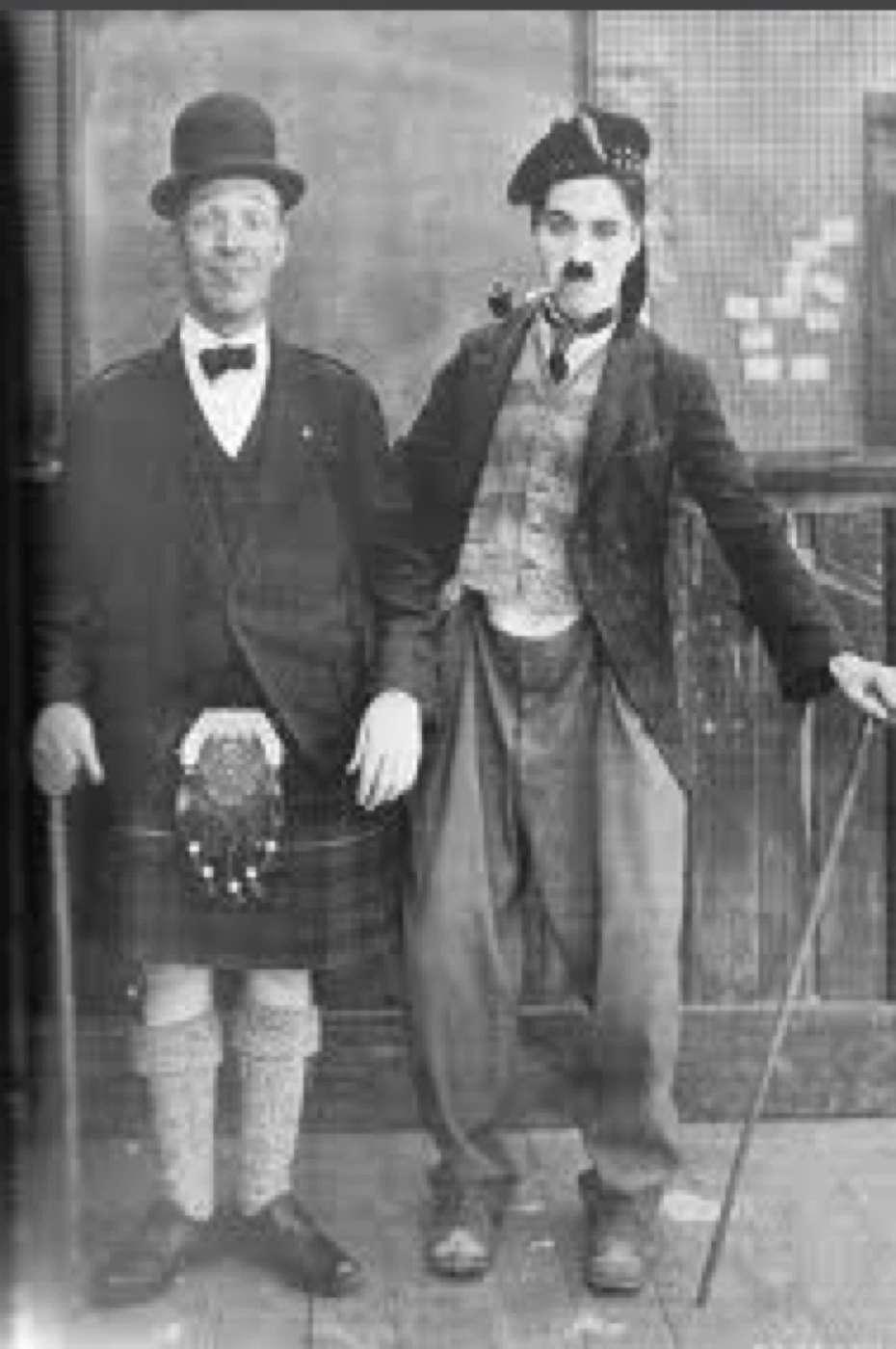 Charlie Chaplin Meets Harry Lauder kapak