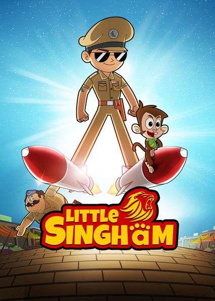 Little Singham kapak