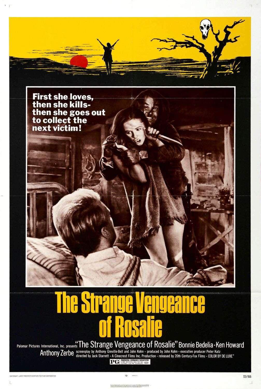The Strange Vengeance of Rosalie kapak
