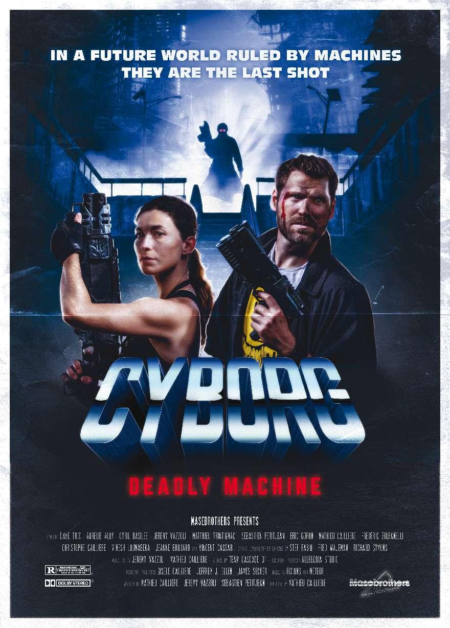 Cyborg: Deadly Machine kapak