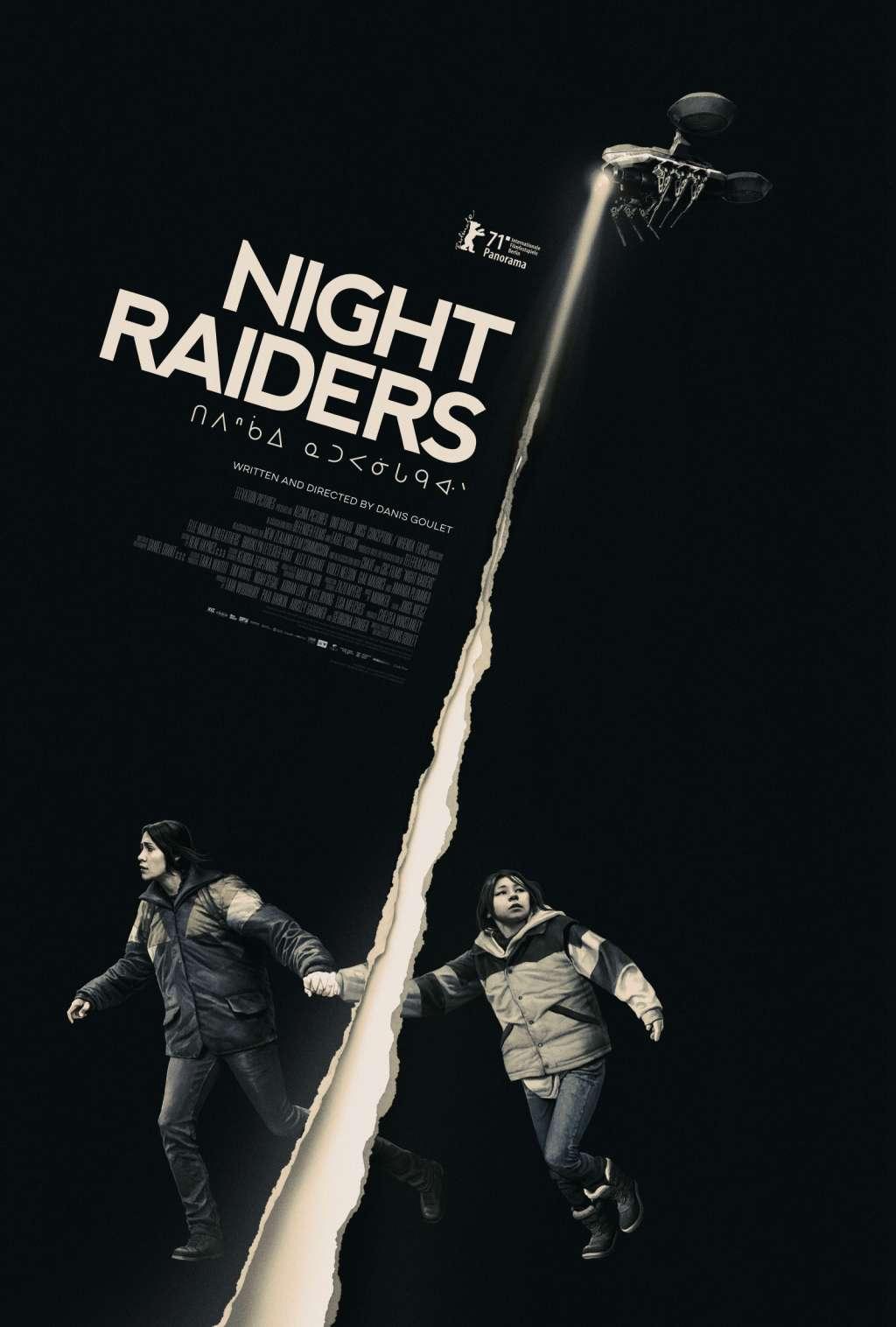 Night Raiders kapak