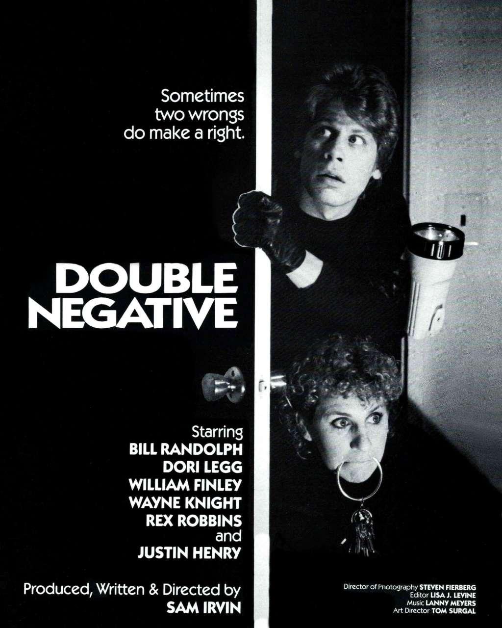 Double Negative kapak