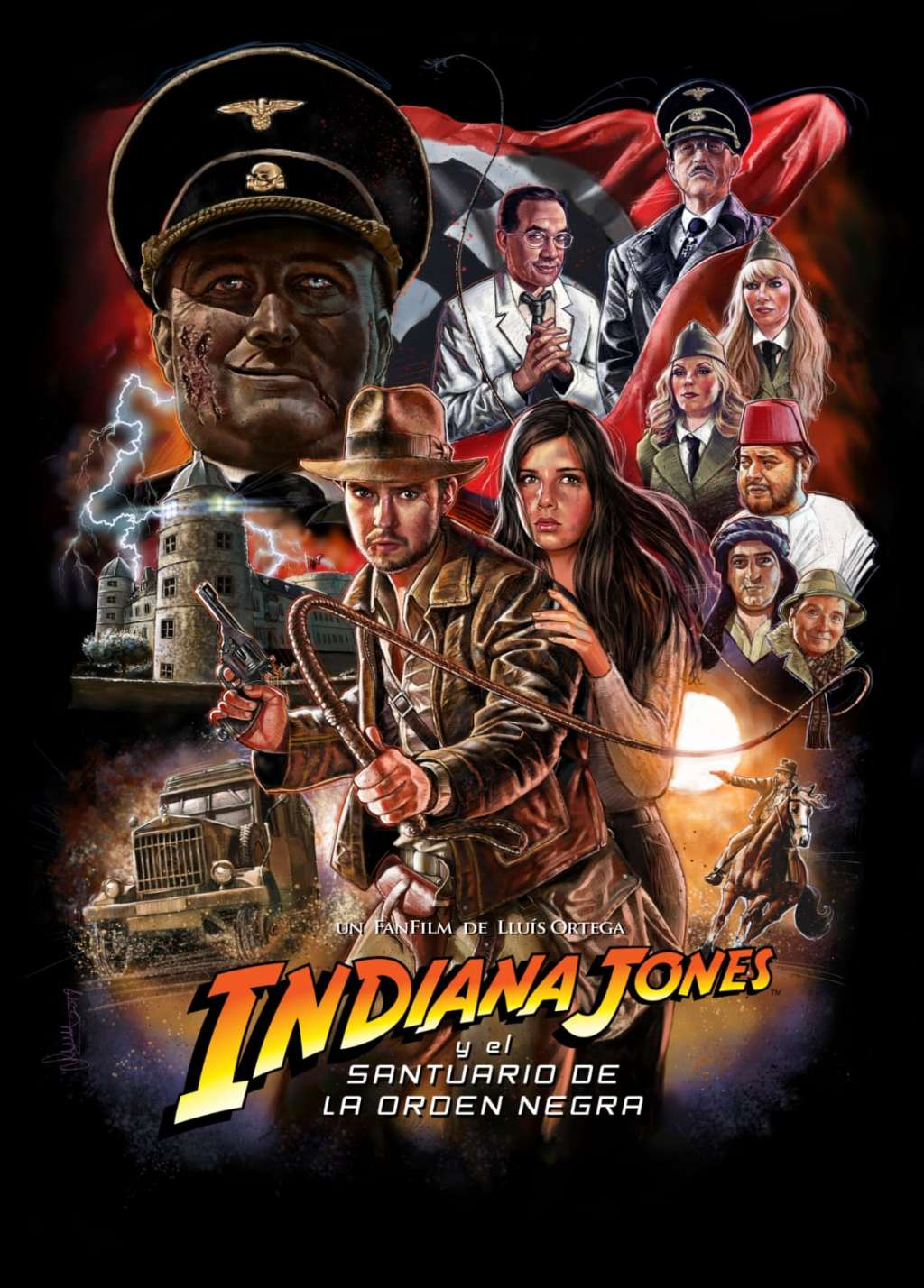 Indiana Jones and the Sanctuary of the Black Order kapak