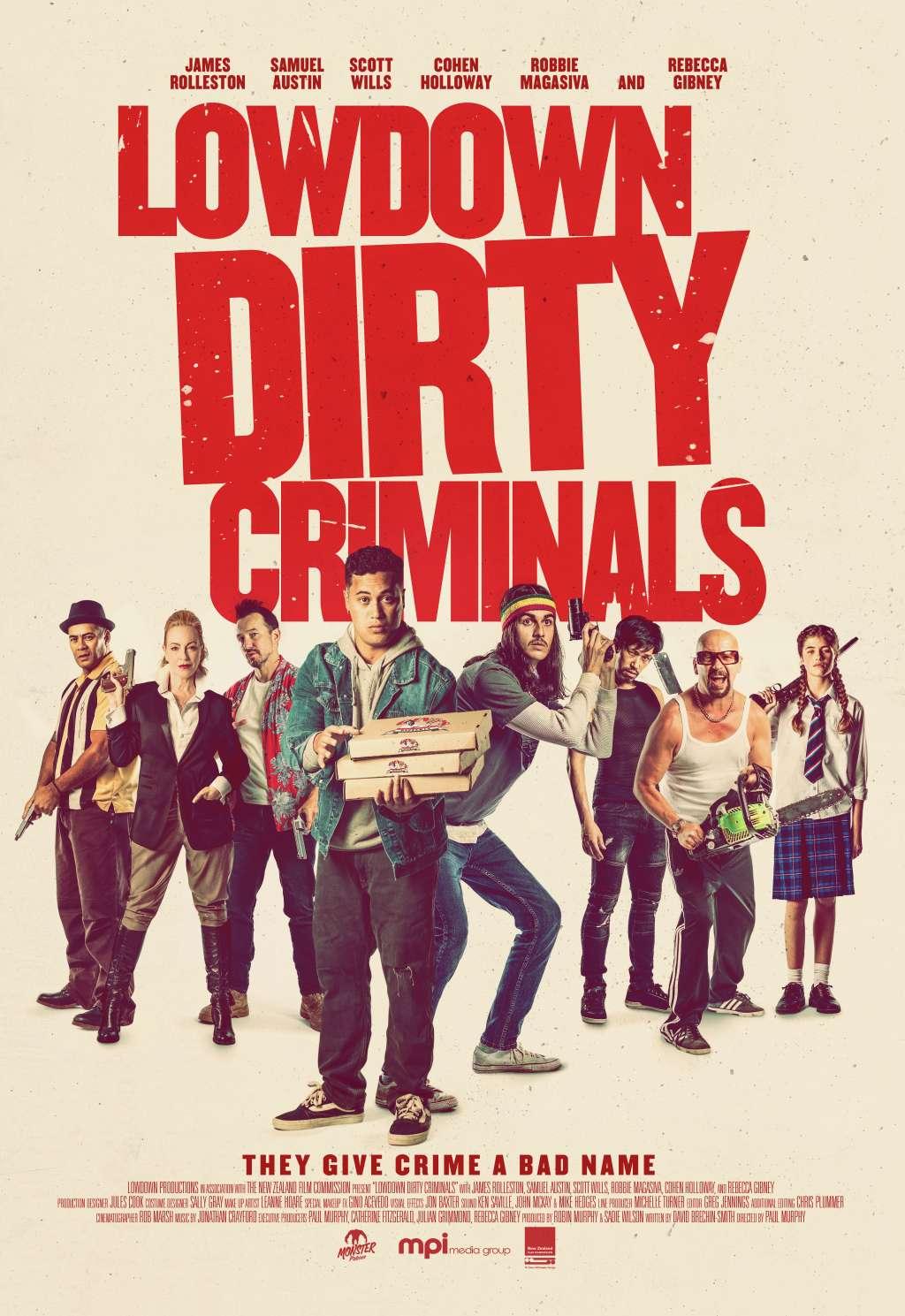 Lowdown Dirty Criminals kapak