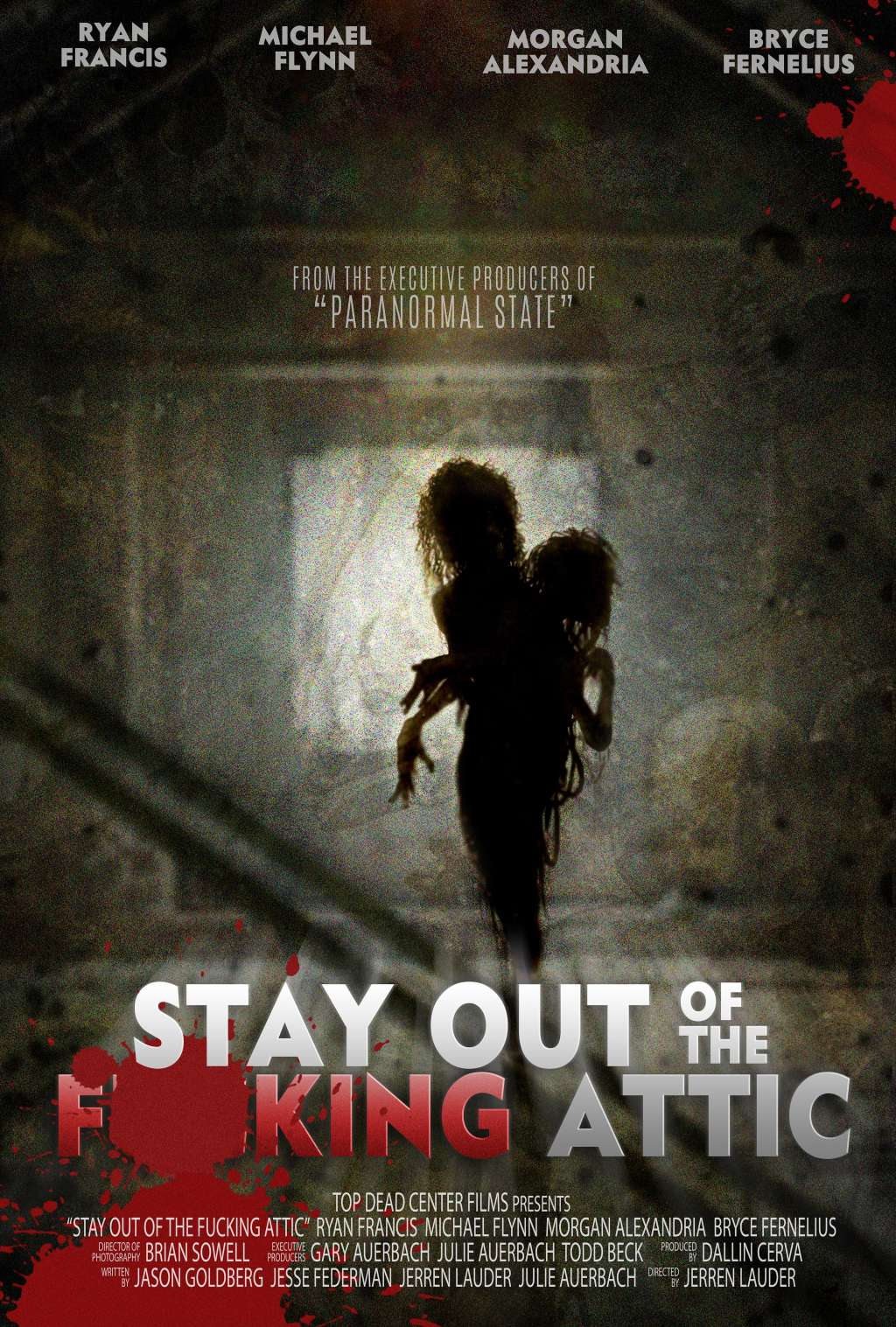 Stay Out of the F**king Attic kapak