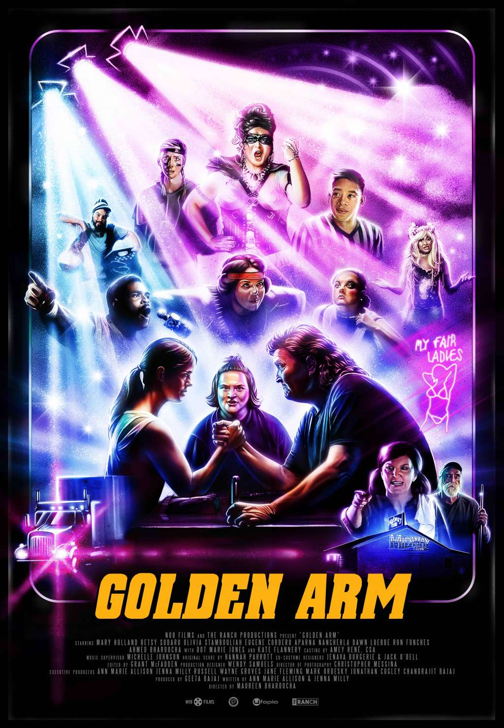 Golden Arm kapak