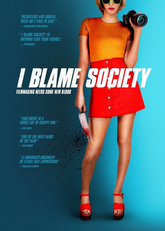 I Blame Society kapak